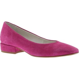 Kenneth Cole New York Women's Bayou Ballet Flat Hot Pink Suede