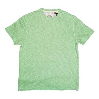 Tasso Elba NEW Green Lime Space Dye Mens Size Medium M Basic Tee Shirt