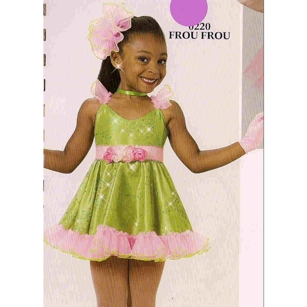 08497448b Shop Dance Costume Tap Ballet Skate Jazz Parade Pageant Frou Frou - Free  Shipping On Orders Over $45 - Overstock - 23023595