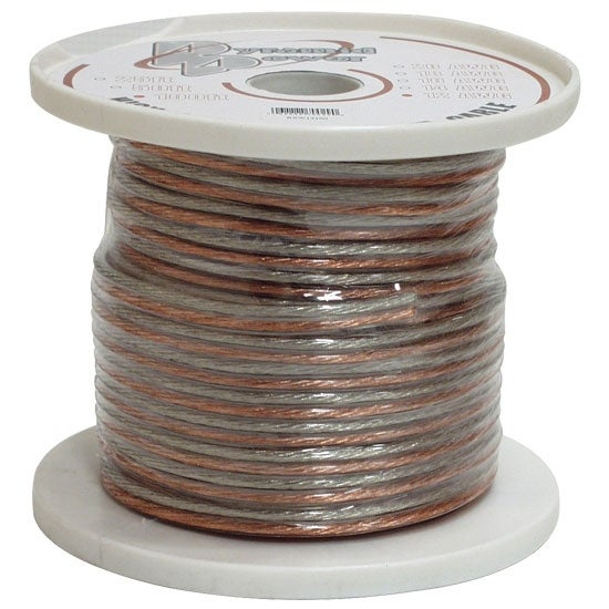 12 Gauge 50 ft. Spool of High Quality Speaker Zip Wire
