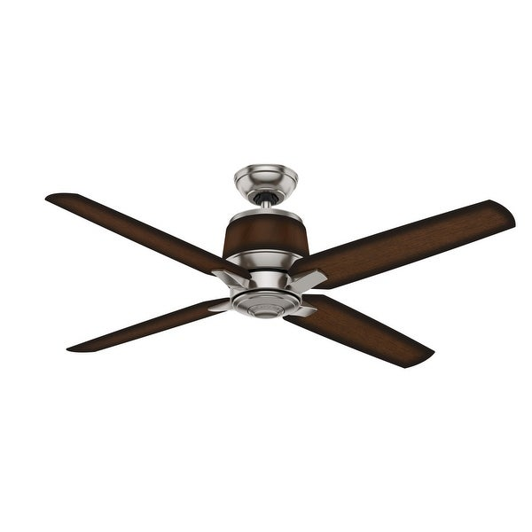"""Casablanca 54"""" Aris Damp Rated Ceiling Fan with Wall Control. Opens flyout."""