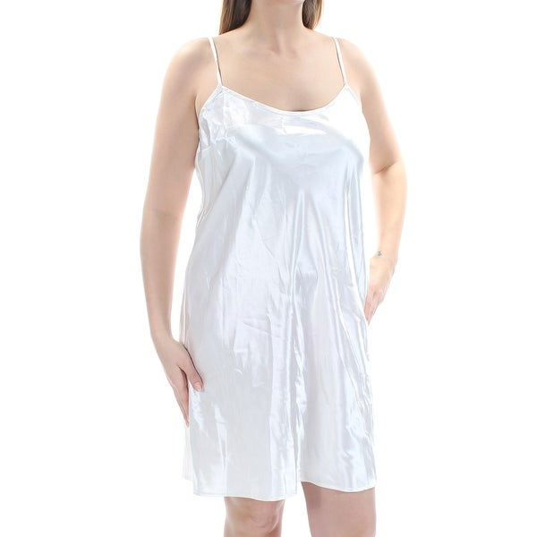3a003ea9cd Shop DKNY Womens Ivory Cut Out Sleeveless Jewel Neck Below The Knee Trapeze  Dress Size  14 - Free Shipping On Orders Over  45 - Overstock - 21240839