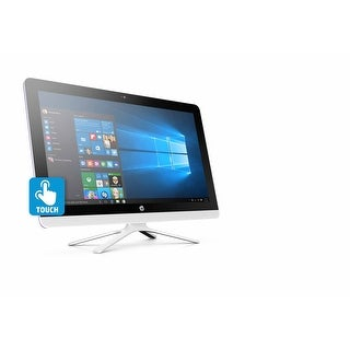 "HP 22-B068 21.5"" Touch AIO Desktop AMD A6-7310 2.0GHz 8GB 1TB Windows 10"