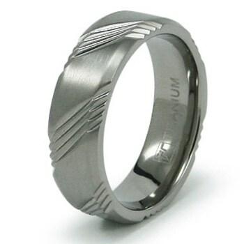 7mm Titanium Ring (Sizes 8-12)