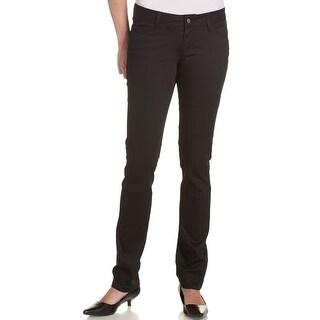 Dickies Girl Junior's Classic 5 Pocket Skinny Pant, Black, 3