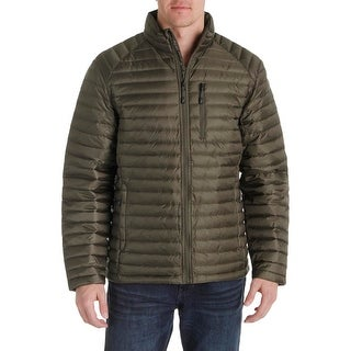 Nautica Mens Puffer Jacket Down Packable