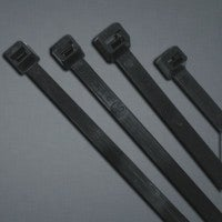 Anchor Brand 102-12120UVB 12 in. UV Stabilized Cable Ties, 120 lbs Tensile Strength - UV Black