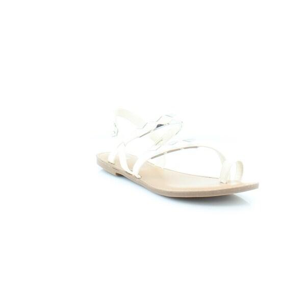 Bar III Vadya Women's Sandals & Flip Flops White