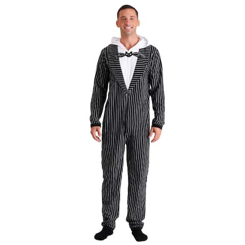 Nightmare Before Christmas Jack Skellington Adult Onesie