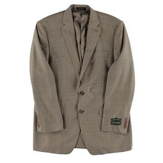 Lauren Ralph Lauren Mens Sportcoat Silk Wool Blend - 42l