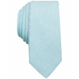 Original Penguin NEW Mint Green Men's Skinny Fresco Textured Neck Tie