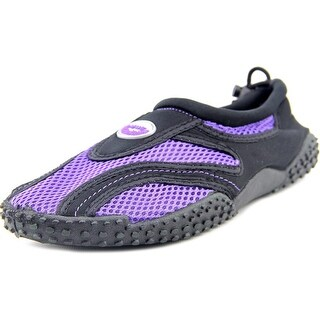 Easy USA G1185-C Women Round Toe Synthetic Black Water Shoe