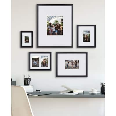Kate and Laurel Gallery Wall Matted Picture Frame Set