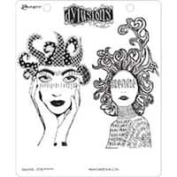 "Survivor - Dyan Reaveley's Dylusions Cling Stamp Collections 8.5""X7"""