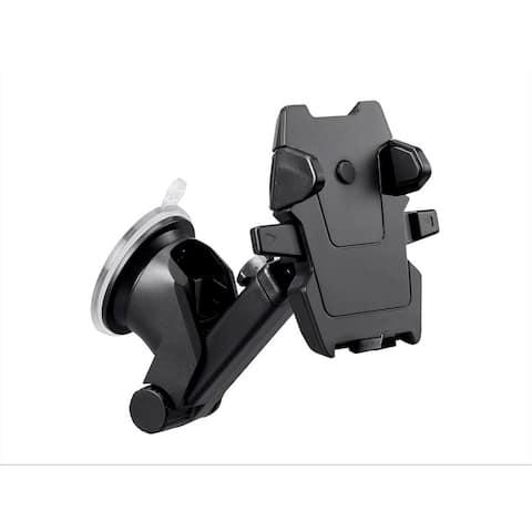 Monoprice Car Windshield Universal Phone Mount Holder with Telescopic Arm