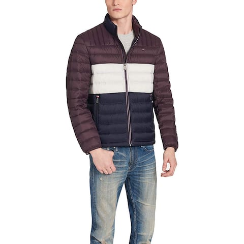 Tommy Hilfiger Men's Ultra Loft Packable Puffer Jacket,, White, Size XX-Large