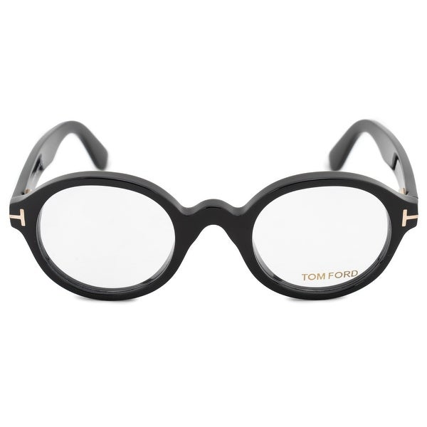 d504b47cde8 Shop Tom Ford Round Eyeglass Frame FT5490 001 46 - On Sale - Free .