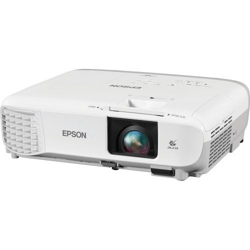 Epson - Lcd Projector - 3700 Ansi Lumen - 1024 X 768 - 1.07 Billion Colors - 15,000:1 -