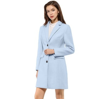 Link to Women's Notched Lapel Single Breasted Outwear Winter Coat Similar Items in Women's Outerwear