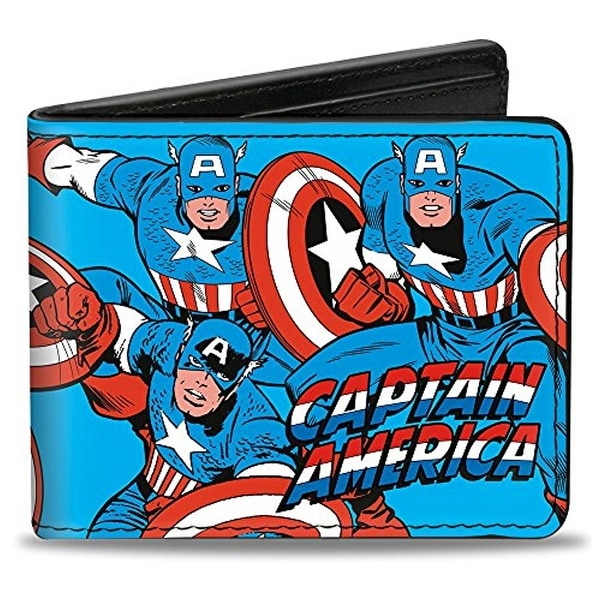 Buckle-Down Bifold Wallet Captain America