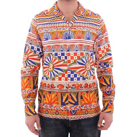 Dolce & Gabbana Dolce & Gabbana Multicolor Catwalk Casual Shirt