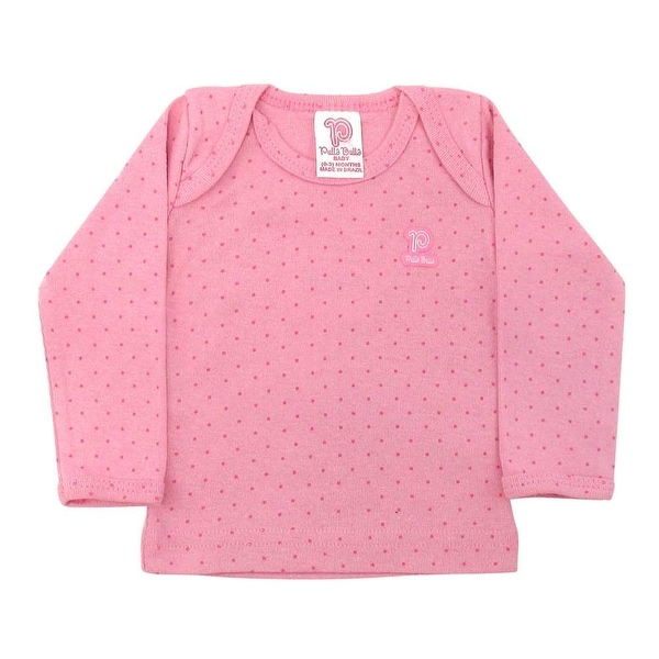 Baby Shirt Unisex Polka Dot Long Sleeve Tee Infant Pulla Bulla Sizes 0-18 Months