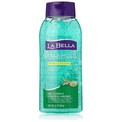 La Bella Max Hold Hair Styling Gel, 22 Ounce