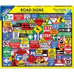 "Road Signs - Jigsaw Puzzle 550 Pieces 18""X24"""