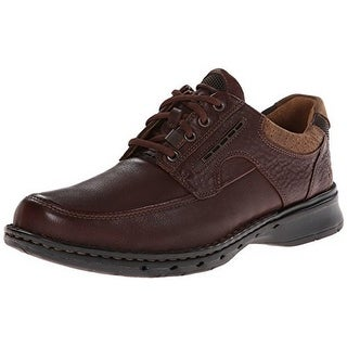 Clarks Mens Unstructured Un.Bend Casual Oxford, Brown