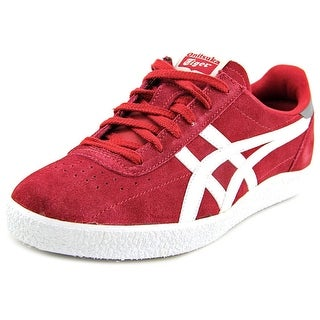 Onitsuka Tiger by Asics Vickka Moscow Men Round Toe Suede Burgundy Sneakers
