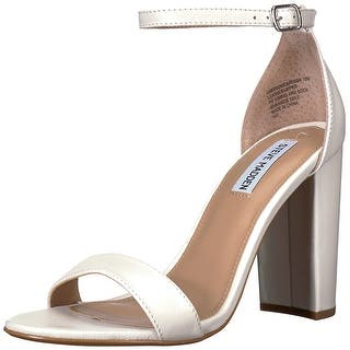 cd8cee42c3d Steve Madden Womens Carrson Suede Open Toe Special Occasion Ankle Strap  Sandals