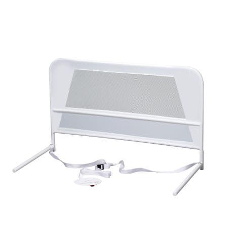 Kidco Children's Mesh Bed Rail Telescopic White
