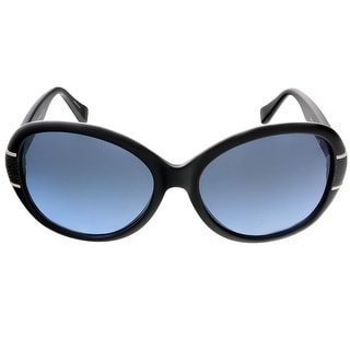 Coach HC8115 500217 Black Oval sunglasses