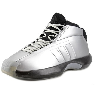 Adidas Crazy 1 Men Round Toe Synthetic Silver Basketball Shoe