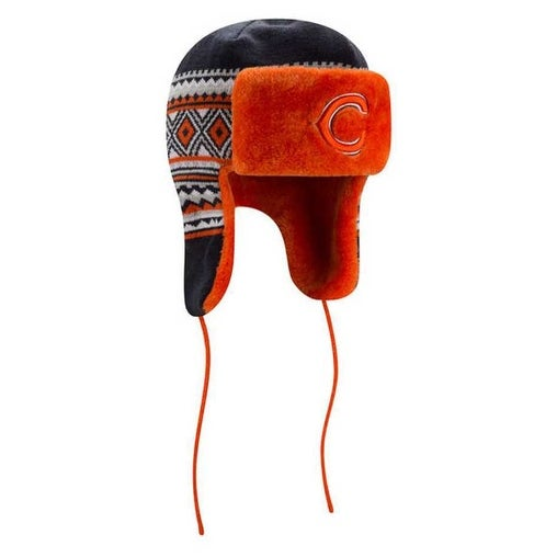 53e8855e7170f8 Shop New Era Chicago Bears Team Trim Trapper Beanie Knit Cap Hat NFL  80366381 - Free Shipping On Orders Over $45 - Overstock - 17762063