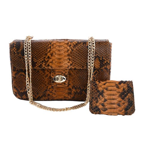 The Pelle Collection Handmade Leather Crossbody Bag Wallet