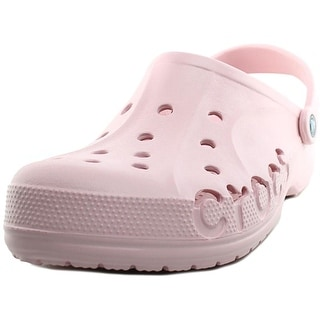 Crocs Baya Clog Men Round Toe Synthetic Pink Clogs
