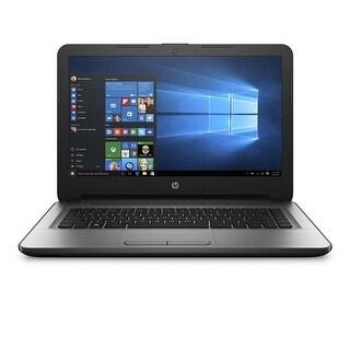 "Manufacturer Refurbished - HP 14-AN090NR 14"" Laptop AMD E2-7110 1.8GHz 4GB 500GB Windows 10"