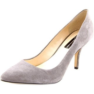 INC International Concepts Zitah Pointed Toe Suede Heels