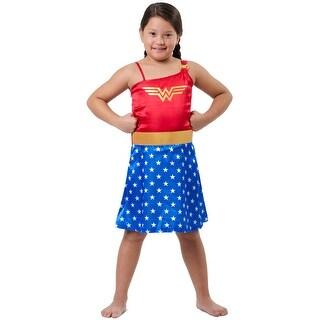 DC Comics Little Girls Wonder Woman Costume Pajama Nightgown