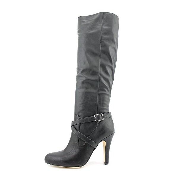 INC International Concepts Thalia Womens Black Fashion Knee-High Boots - 5.5