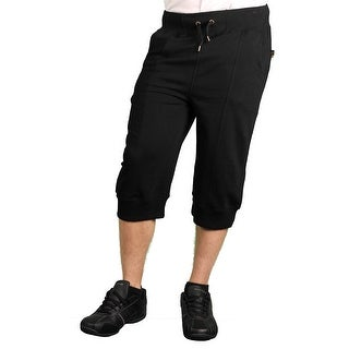 Maxi Milian Men's French Terry Cropped Jogger Pant