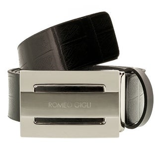 Romeo Gigli C955/35S Leather Adjustable Mens Belt