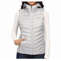 The North Face Gray Womens Size Medium M Tonnero Vest Jacket
