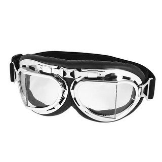Off-road Riding Plastic Rim Clear Lens Sand Eyes Protector UNI Goggles Glasses