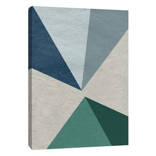 "PTM Images 9-108412  PTM Canvas Collection 10"" x 8"" - ""Linen Geometrics E"" Giclee Patterns and Designs Art Print on Canvas"