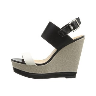 Report Womens Nessa Open Toe Casual Platform Sandals