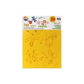 Delta Stencil Mania Value Pack Flowers