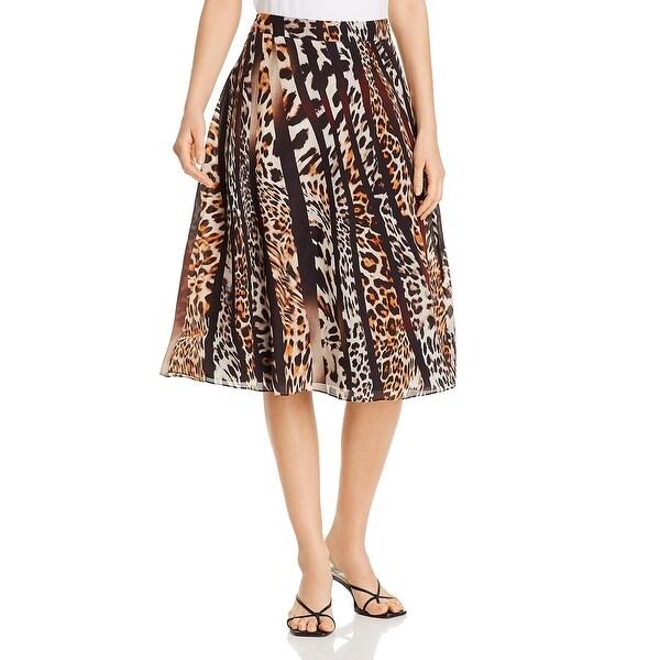 Kobi Halperin Womens Bari Maxi Skirt Animal Print Dressy - Black Multi. Opens flyout.
