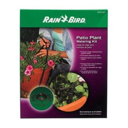 Rain Bird PATIO-KIT Patio Plant Watering Kit, 40 Piece